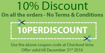 10% Discount Coupon, buy chocolates at discount price