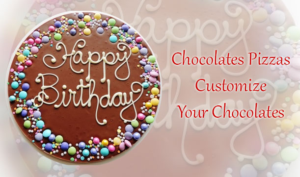 Customized chocolates first time in India, buy custom chocolates online