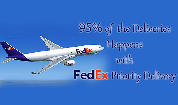 Free & Fast Delivery by FedEx