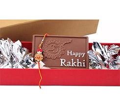 Happy Rakhi chocolate bars