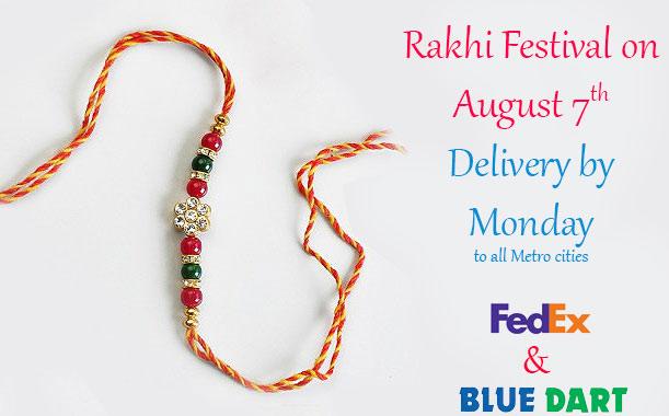 Send rakhi - raksha bandhan to your brother online India