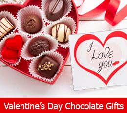Send Valentines day chocolate gifts to girl friend, boy friend, wife or husband