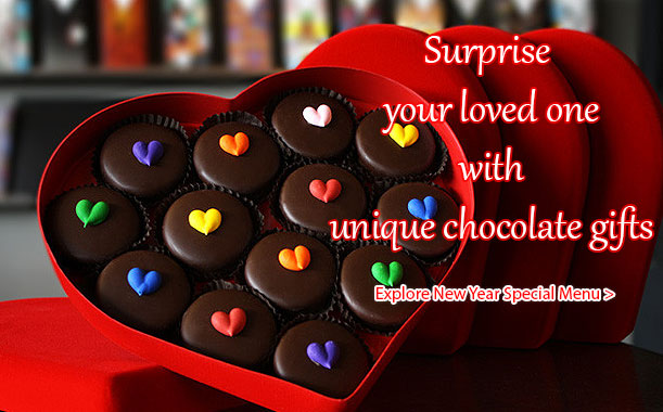 Send chocolate gifts to your girl friend or boy friend on this Valentine's day