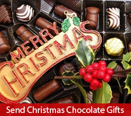 Christmas chocolate gifts to send in India