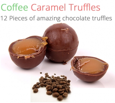 Image of Coffee Caramel Truffles