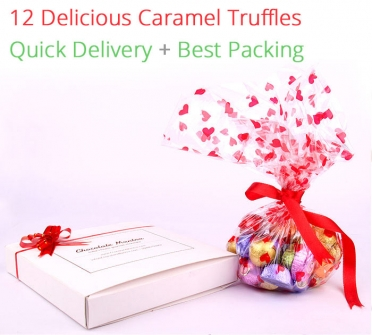 Image of Natural Caramel Truffles - 12 chocolates