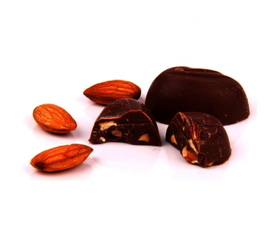 Image of Almond Praline Dark Chocolate