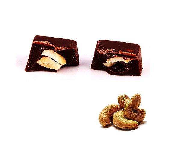 Image of Cashew Nut Praline Dark Chocolate