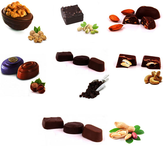 Image of Dark Chocolates - Only Nuts