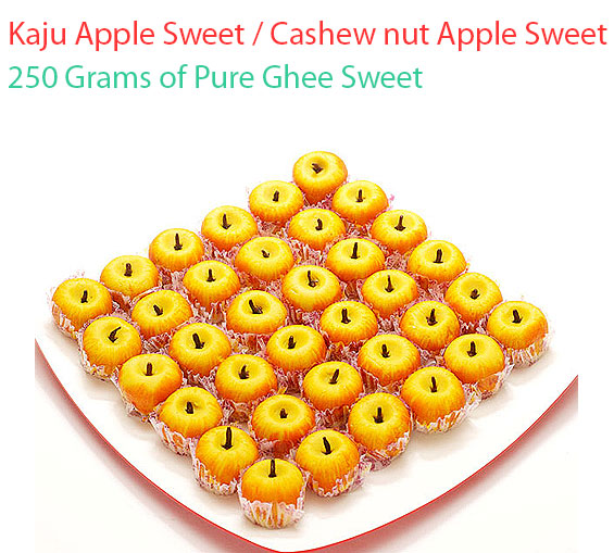 Image of Kaju Apple Sweet Cashew nut Apple Sweet