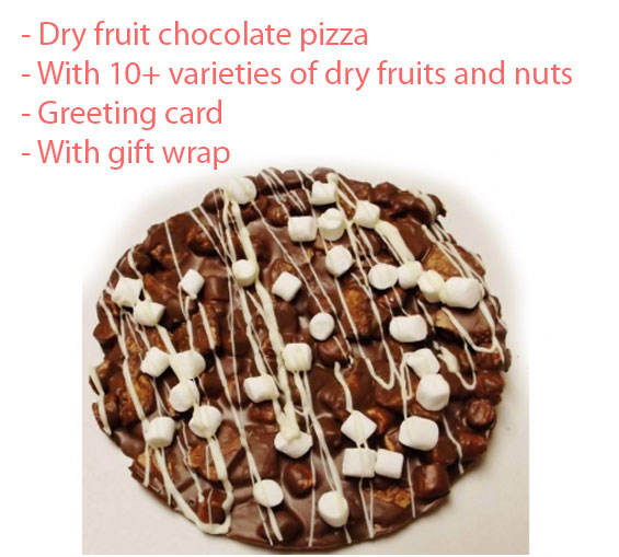 Image of Chocolate Pizza - Innovative Chocolate - Father's day Spl