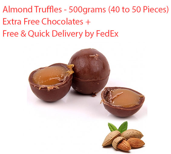 Image of Almond Truffles - 500 grams