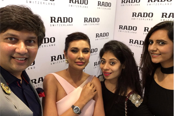 RADO Launch By Lisa Ray, 12th July, 2016
