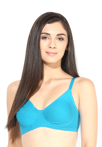 Enamor Solid Bra - A042  Non Padded, Wirefree & Medium Coverage