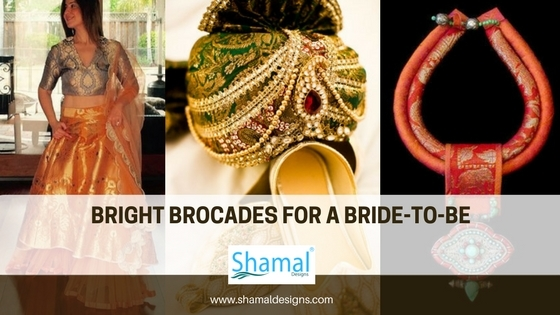 Bright Brocades for a bride-to-be