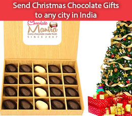 Send Christas chocolate gifts to friends, families and new year chocolate gifts.