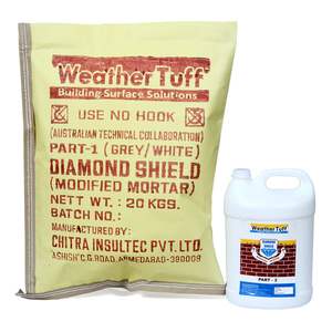 Super Diamond Shield ( White )  Cement Base Waterproofing