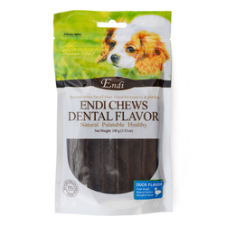 Endi Dental Chewy Stick Duck Flavor
