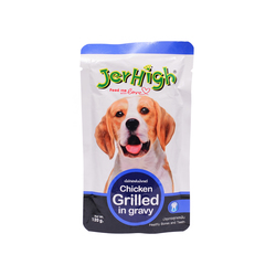 Jerhigh Grilled Chicken in Gravy 120g