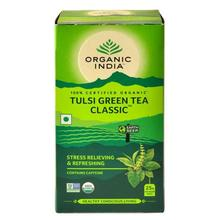 Organic India Tulsi Green Tea, 25 Tea Bags