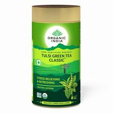 Organic India Tulsi Green Tea, 100 Gram Tin