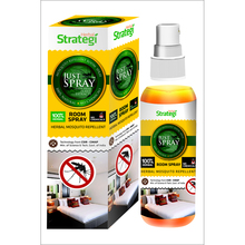 Herbal  Strategi Mosquito Repellent Room Spray ( Weight Option Available )