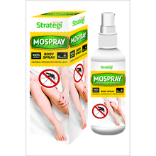 Herbal Strategi Mospray  Body Spray ( Weight Option Available )