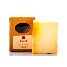 Tvam Handmade Almond, Saffron & Goats Milk Soap, 100 gm