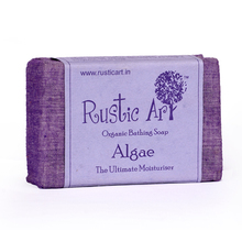 Rustic Art Organic Algae Soap, 100 gm