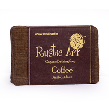 Rustic Art Organic Coffee Soap, 100 gm