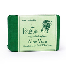 Rustic Art Organic Aloe Vera Soap, 100 gm
