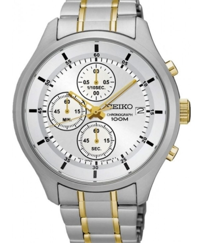 0f0f11c9f Seiko Chronograph SKS541P1 Silver Dial Men's Watch - The Golden Time