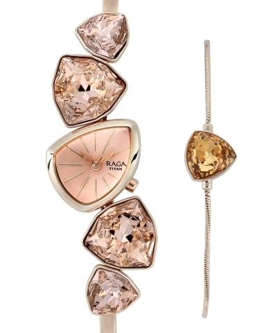 Buy Titan Raga I Am Women Rose Gold Watch The Golden Time