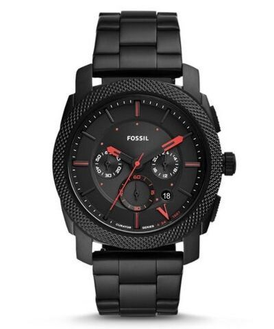 CS5004SETIP | Fossil Limited Edition Curator Series Machine Chronograph  Interchangeable Strap Box Set.