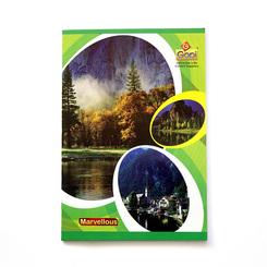 GOPI Marvellous Long Book - 28.0 cm  x 19.5 cm