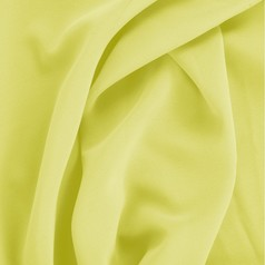 Bamboo-Georgette Neon Yellow Fabric