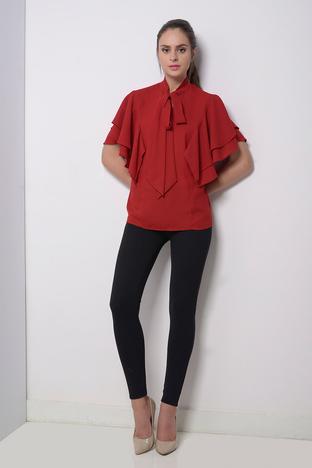 Zeniaa, Red Bow Tie Top