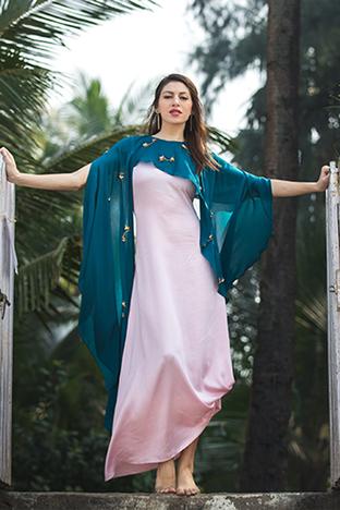 Payal Jeswani, Cape Cawl Dress