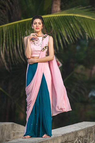 Payal Jeswani, Saree Blouse