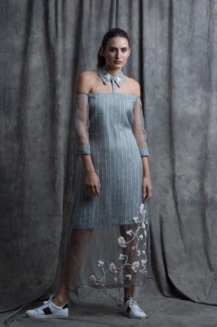 Sneh Nandu, Detached Collar Dress