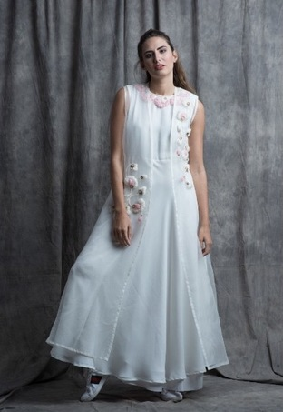 Sneh Nandu, White Flary Rose