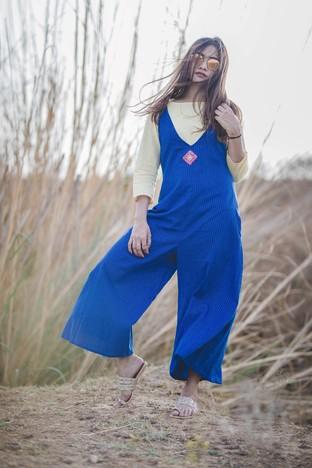Gulaal Creations, Desert Bluebells Jumpsuit