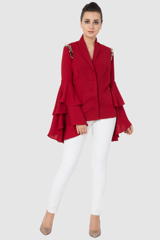 Aakaar, Bells Blazer Top