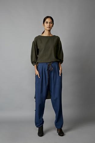 Jayati Goenka, Leather Belt Cig Pants