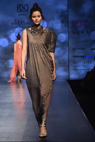 Abstract By Megha Jain Madaan, Assymetrical  Dress