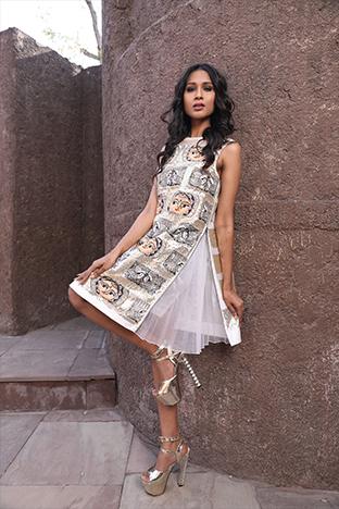 Hasrat E Sassy, The Zipper Dress
