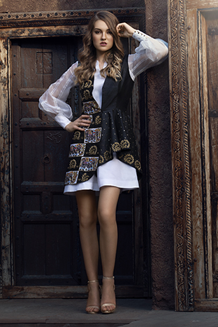 Hasrat E Sassy, Trench Coat Dress
