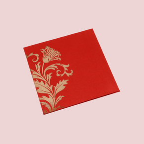 satin  Wedding Cards