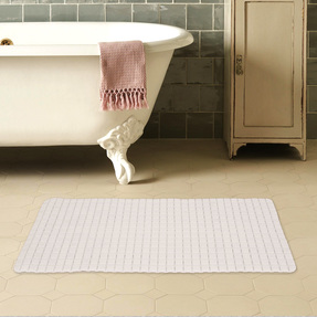 Story@Home Bath Mat - White