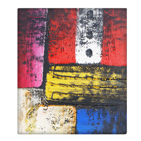 Story@Home Modern Abstract Art Framed Wall Painting Frame (Canvas, 28 cm x 24 cm x 28 cm, PZ1401)